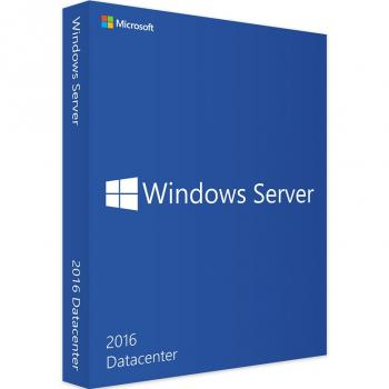 Windows Server 2016 Datacenter 16 Kerne Basislizenz - Deutsch (P71-08653) 64-Bit DVD